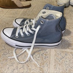 Grey Converse High Tops